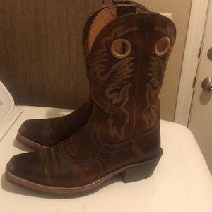 Men's Ariat size 11 square toe Cowboy boots